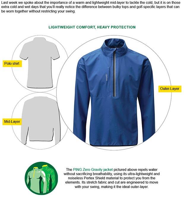PING Zero Gravity jacket