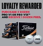 Titleist Loyalty Rewarded €60
