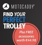 Motocaddy free accessories offer -euro