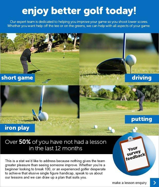 Enjoy Better Golf - SM