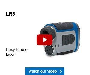 GolfBuddy LR5 Laser Rangefinder GPS
