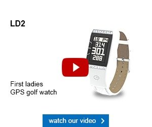GolfBuddy Ladies LD2 GPS Watch
