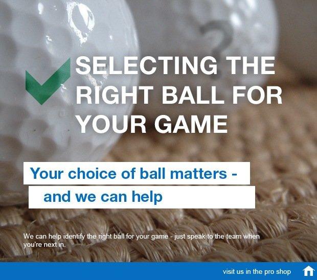 Golf ball launch SM