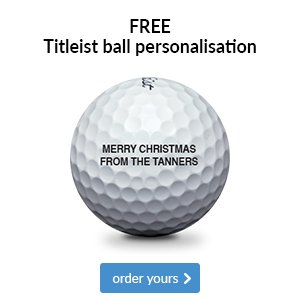 Titleist free ball personalisation - from €23.99