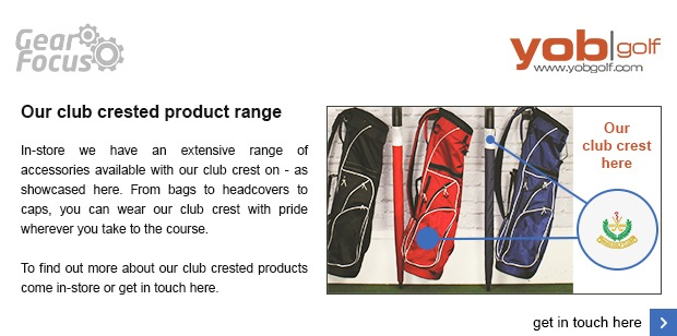 Our club crested product range