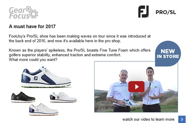 Introducing FootJoy's latest addition…